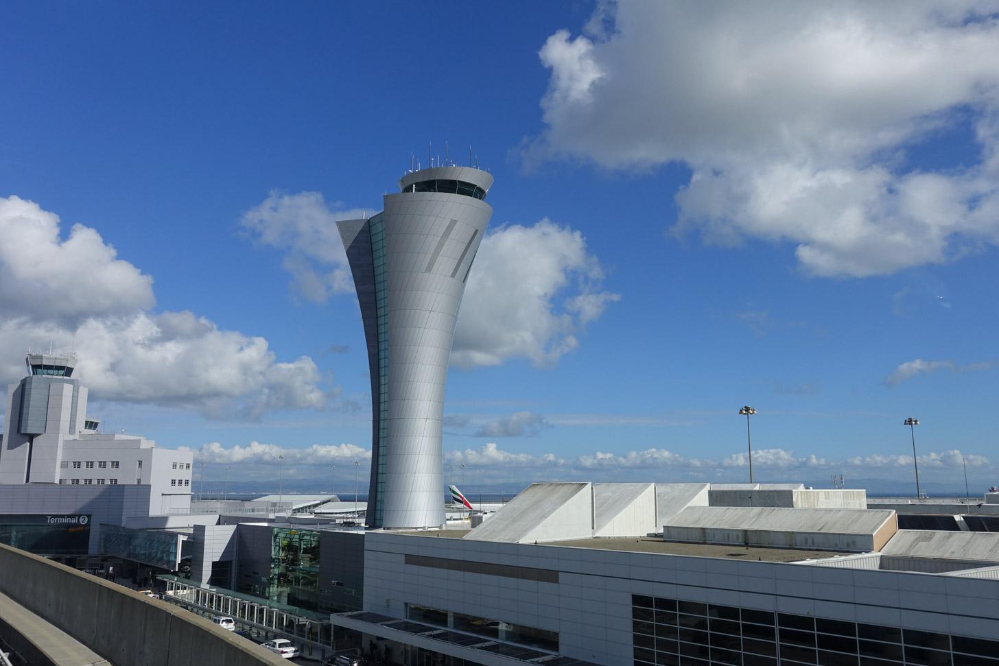 De luchthaven van San Francisco